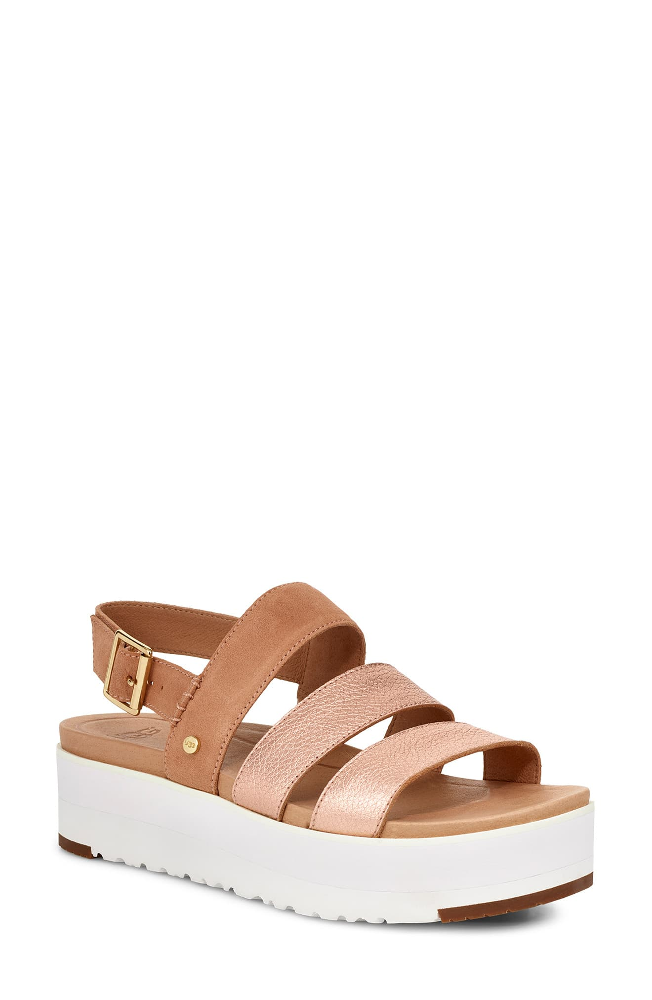 69f9827007d UGG Braelynn Flatform Sandal in 2019 | Products | Sandals, Uggs ...