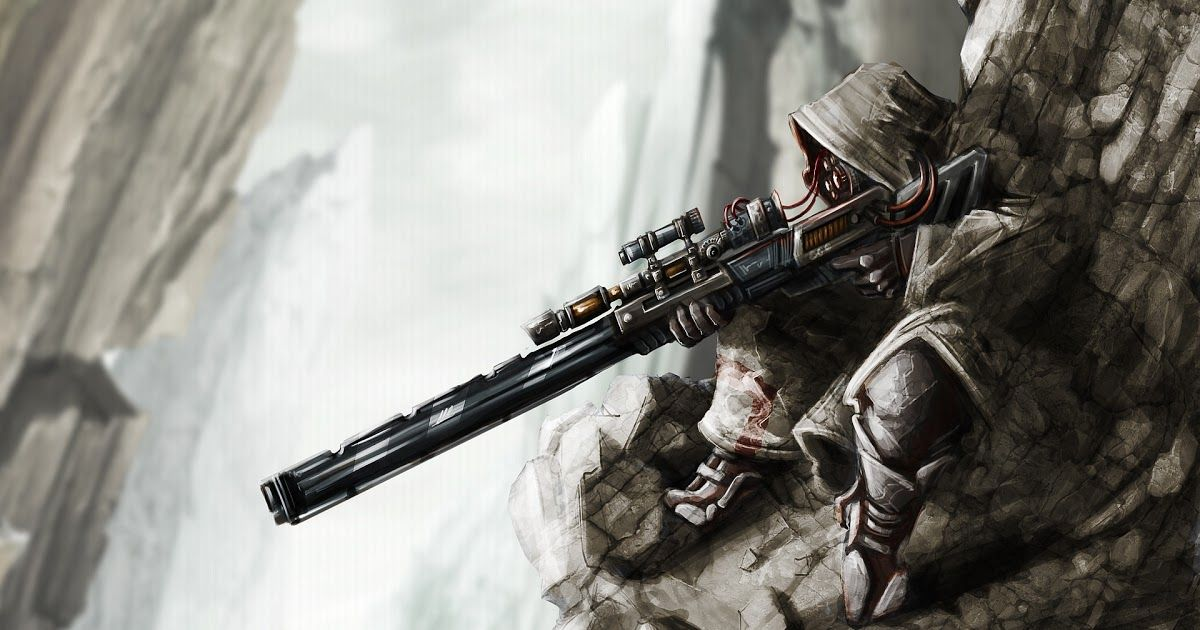 Anime Wallpaper Hd Sniper Sniper Art Anime Wallpaper Sniper