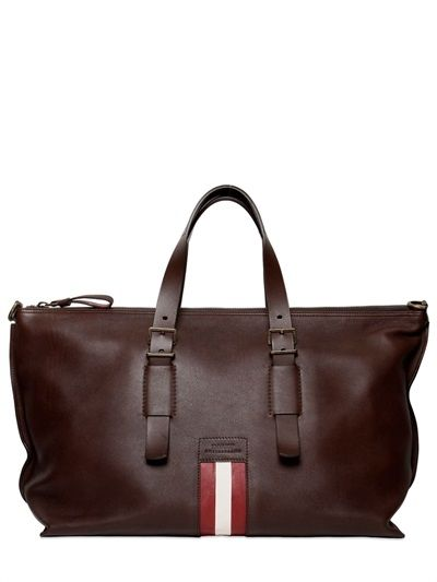 8afba968afa5 BALLY SOFT CALF LEATHER WEEKENDER BAG