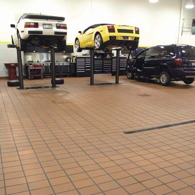 Cheap Garage Floor Tiles Finish Supposidly No Slicker When