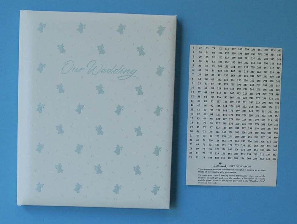 Hallmark Our Wedding Keepsake Album New 11 X 9 Vintage Book