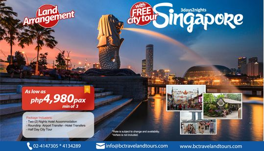 Cheapest flights to Singapore Changi from Philippines