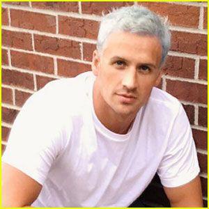 Ryan Lochte Dyes His Hair Blue Ahead Of Rio Olympics Friendtagboard Com Ryan Lochte Blue Hair Olympics