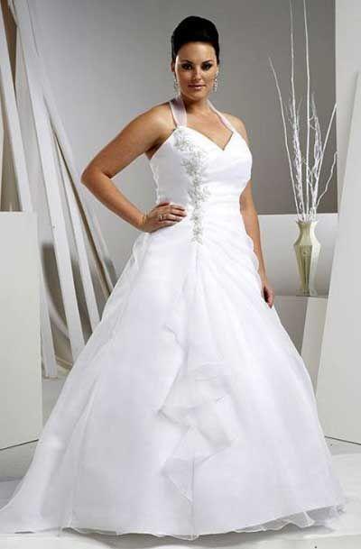 Vestidos de noiva baratos para gordas