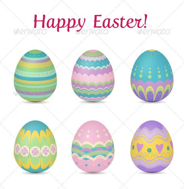 easter eggs | holiday icon, font logo and graphics