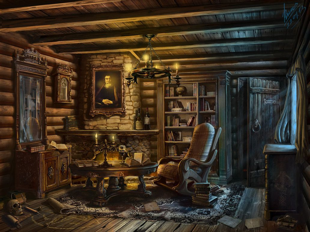 Hunter's House by abzac666. DeviantART Interior for the