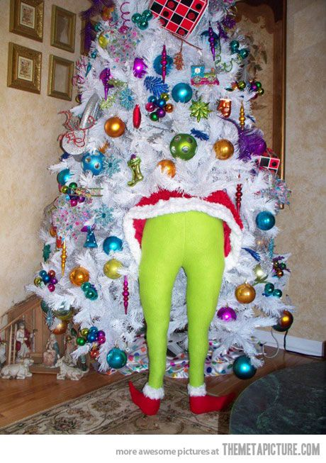 Unique Christmas Decorations best christmas decoration ever… | grinch, decoration and google images
