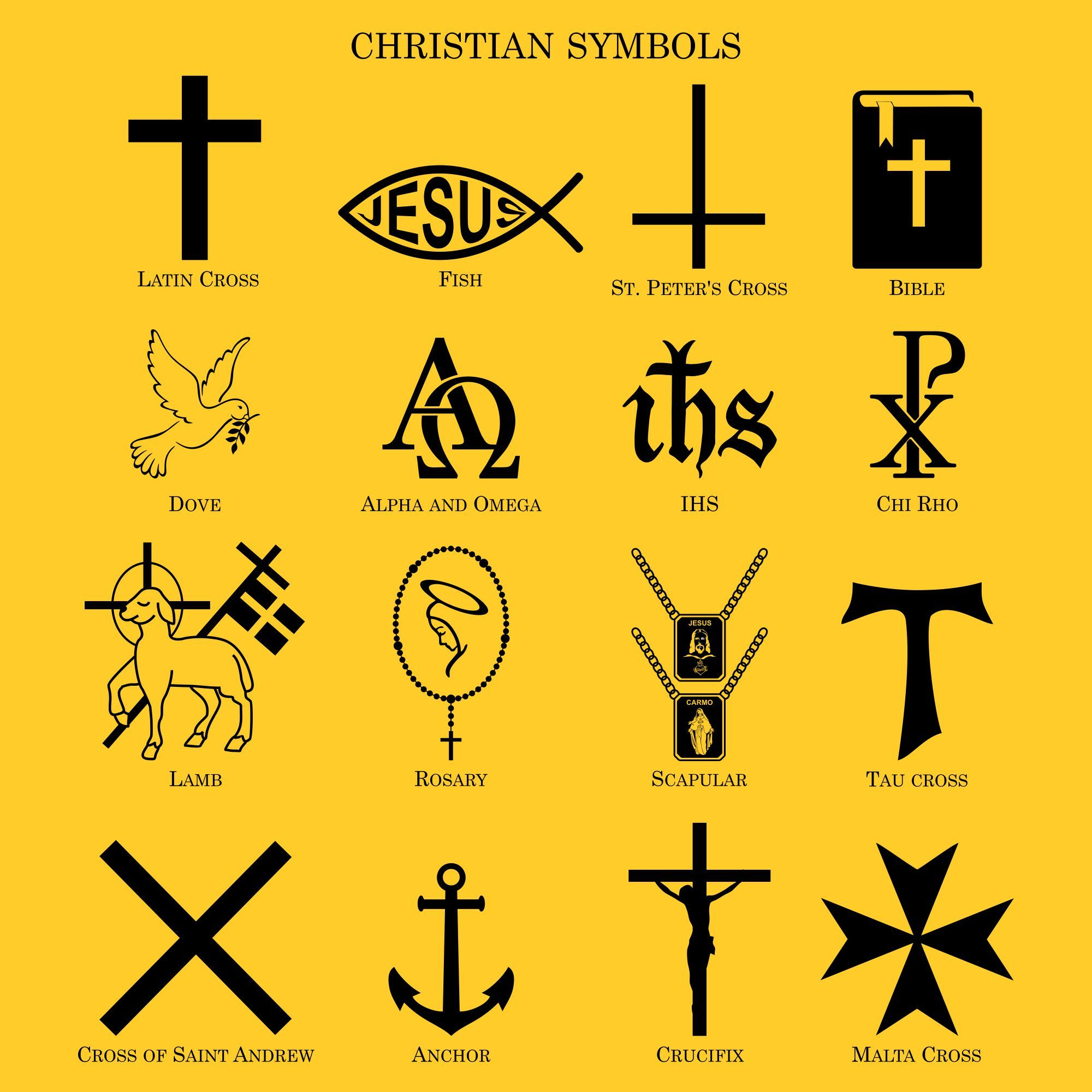 Christian Symbols Christian Symbols Catholic Symbols Symbols