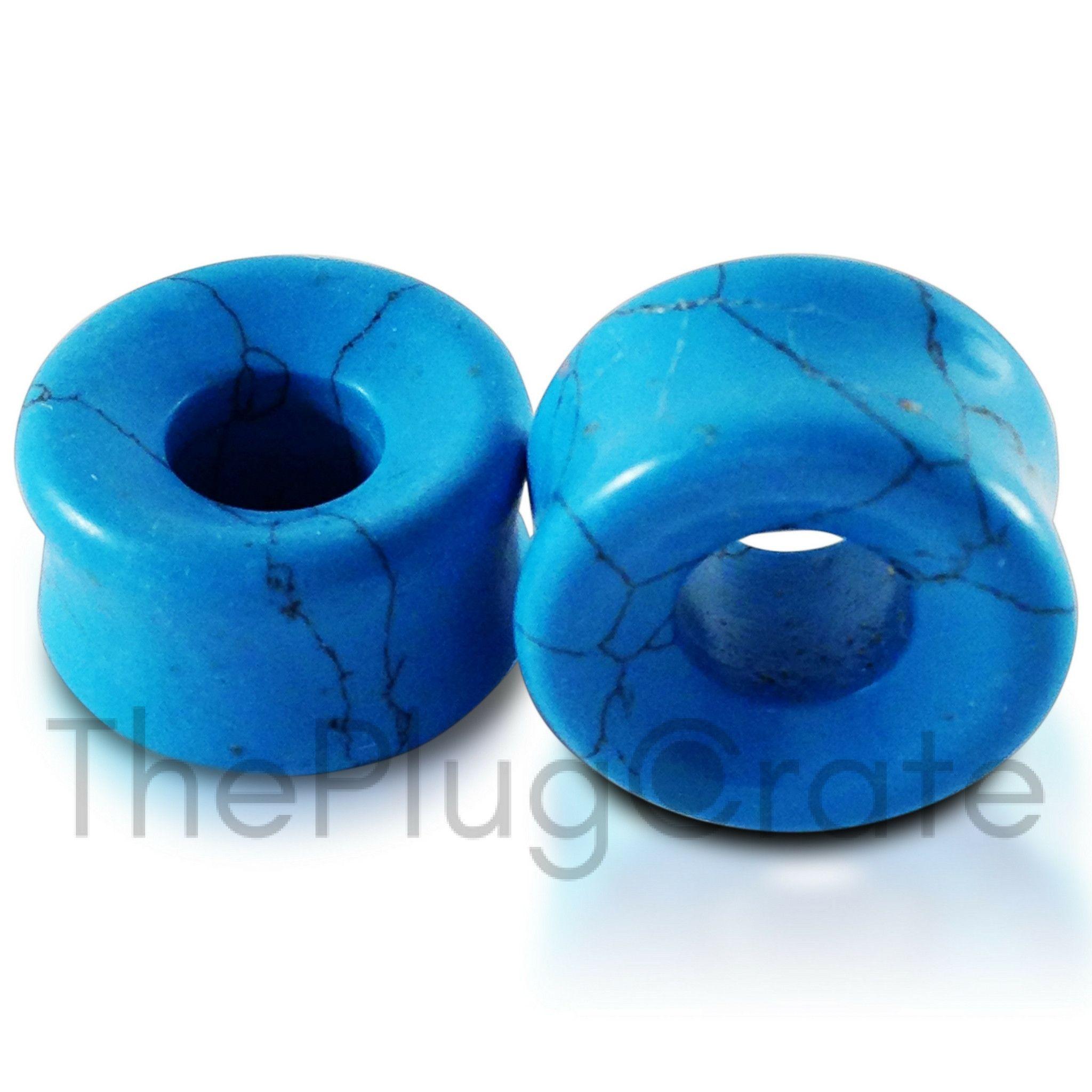 Premium Turquoise Stone Tunnels