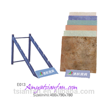 29 portable ceramic tile display rack