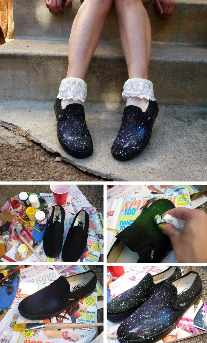 DIY Customized Tutorial: Slip-On Sneakers