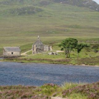 Hiking near Ullapool, Scotland.  My dream home!