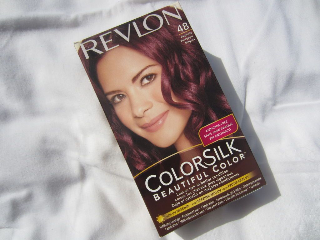 Groovy Gabys Beauty Blog Project Burgundy Hair Revlon Colorsilk In Hairstyles For Women Draintrainus