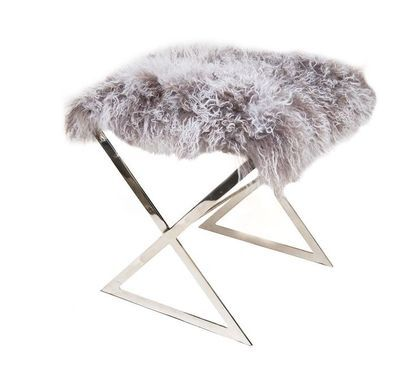 Mongolian Lamb Stool By Ankasa Http://www.livelyupyours.com/lively Home  Products.html #livelyupyours #luxury #home #design #lifestyle #interior ...