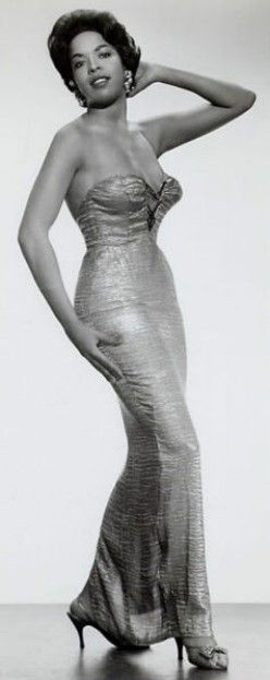 Della Reese glamor shot from the 1950s. Today, she is not only an actress, but also a pastor. Her mother is full-blood Cherokee.