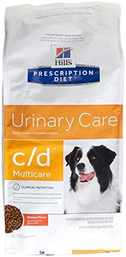 Hill S Prescription Diet C D Canine Urinary Tract Health 17 6lb Your Dog S Urinary Health Is Both Delicate Dog Food Recipes Dry Dog Food Animal Nutrition