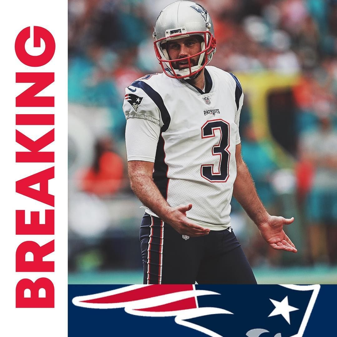 4 027 Likes 99 Comments Jpafootball Jpafootball On Instagram Patriots Are Re Signing Kicker Stephen Gostowski To A 2 Yea Patriots Kicker Instagram