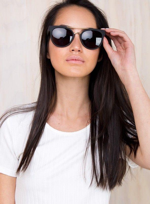 4b2498d6b2 Quay Black Odin Sunglasses