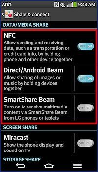 what is smartshare beam