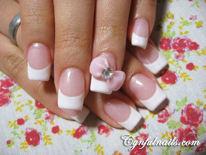 Acrylic nails designs with bows nail art 2 pinterest acrylic nails designs with bows prinsesfo Image collections