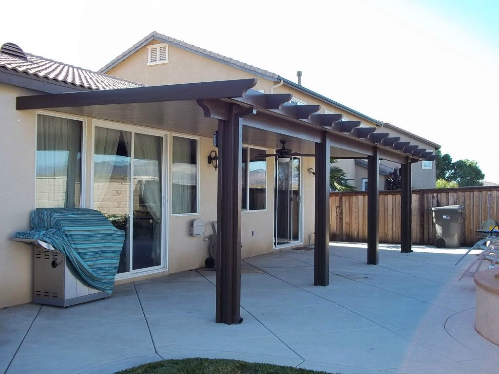 Aluminum Patio Cover Pictures, Duralum