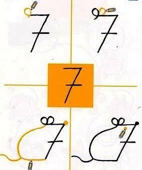 Como Desenhar Um Rato Com O Numero 7 Com Imagens Desenho Com