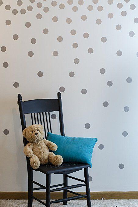 calcomanía decorativo para pared diseño de lunares 200
