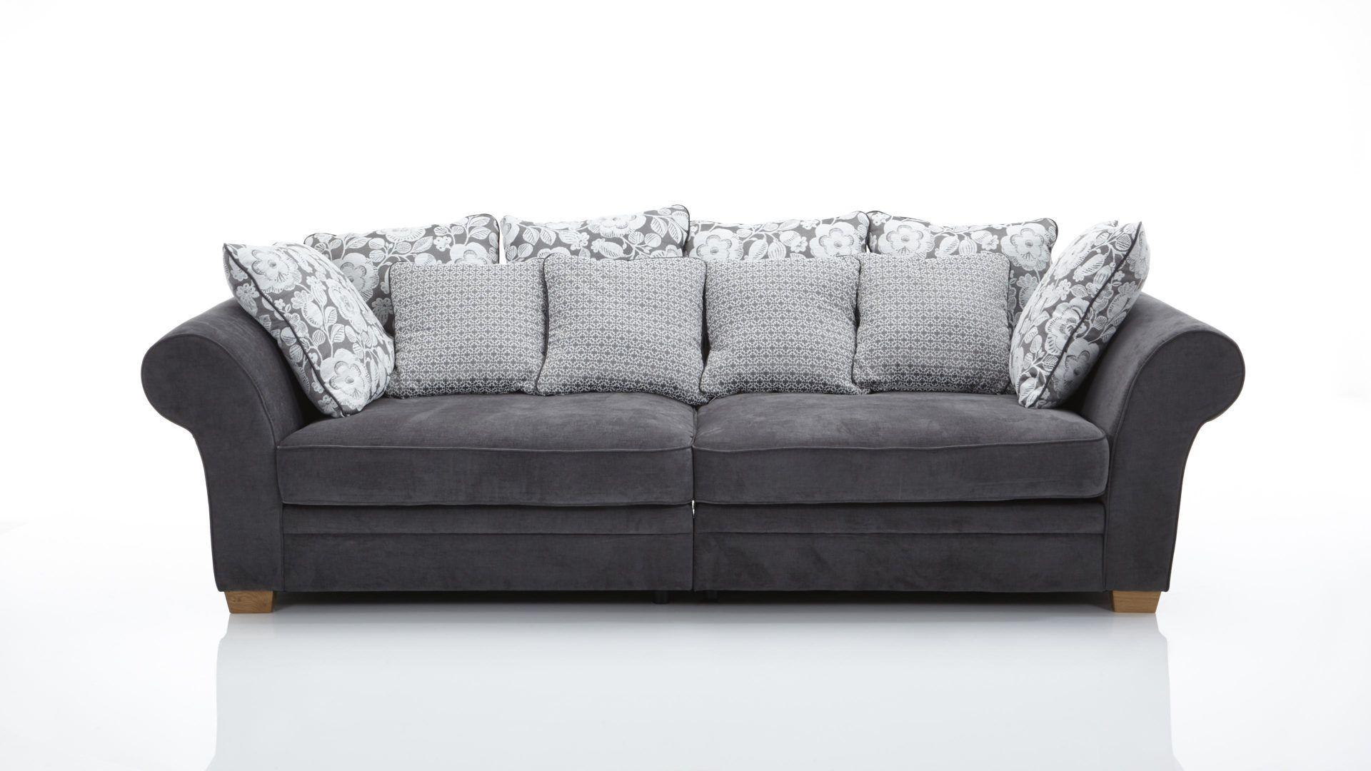 Möbel Staude Mega Sofa im modernen Landhausstil