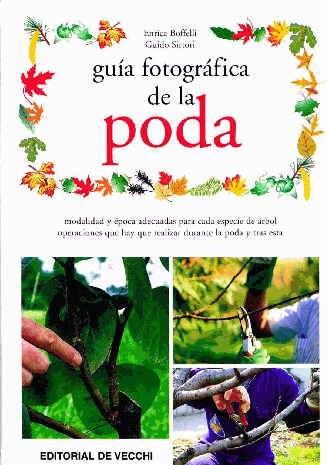 Plantas guia fotografica de la poda jardiner a plantas for Viveros frutales pdf