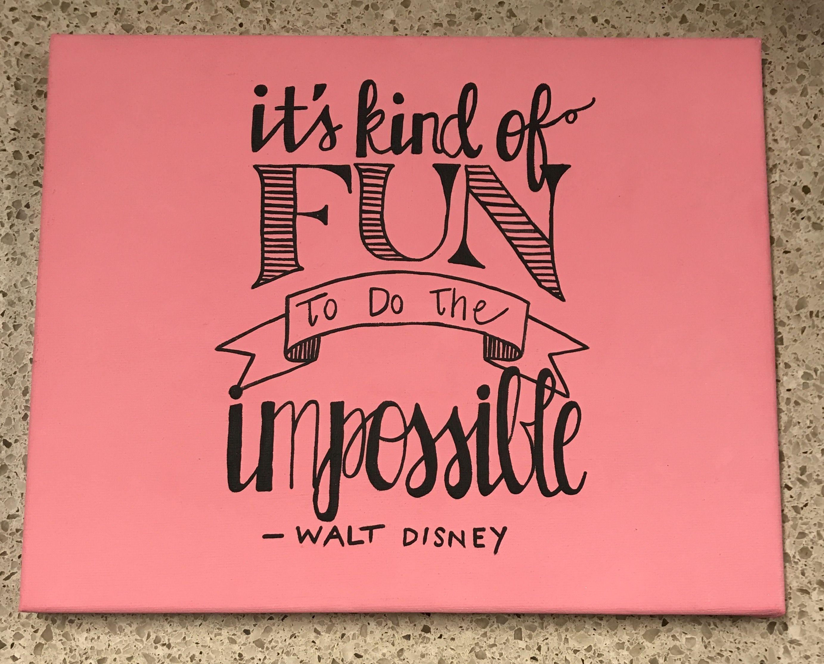 Walt Disney Canvas