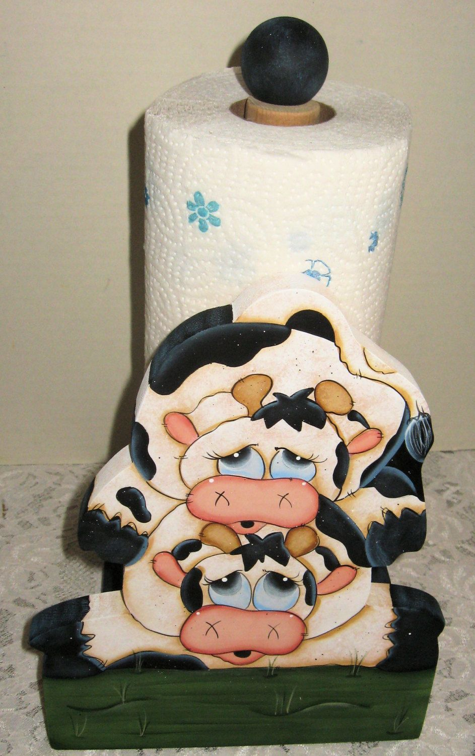 Cow kitchencow paper towel holdercountry cow decorcow collectorscow