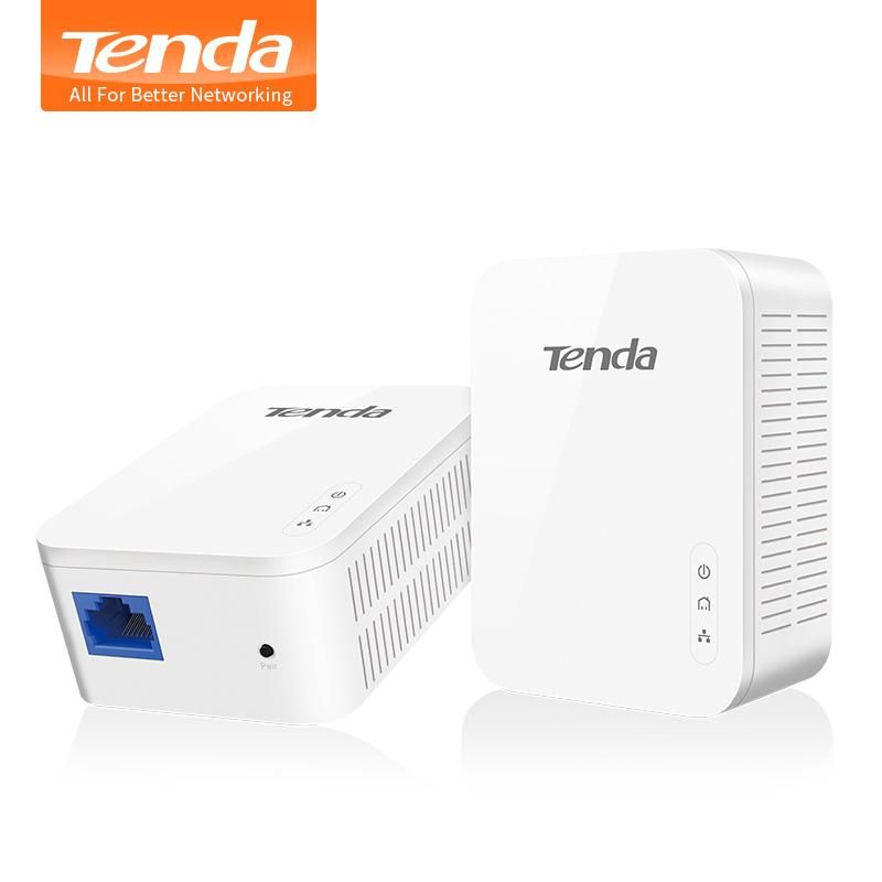 1Pair Tenda PH3 1000Mbps Powerline Network Adapter, AV1000 Ethernet ...