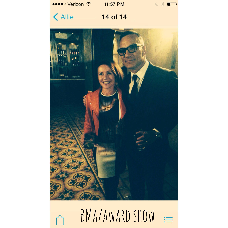 BMA show .. LA  #buzzsalon #oribe    Feb. 2014