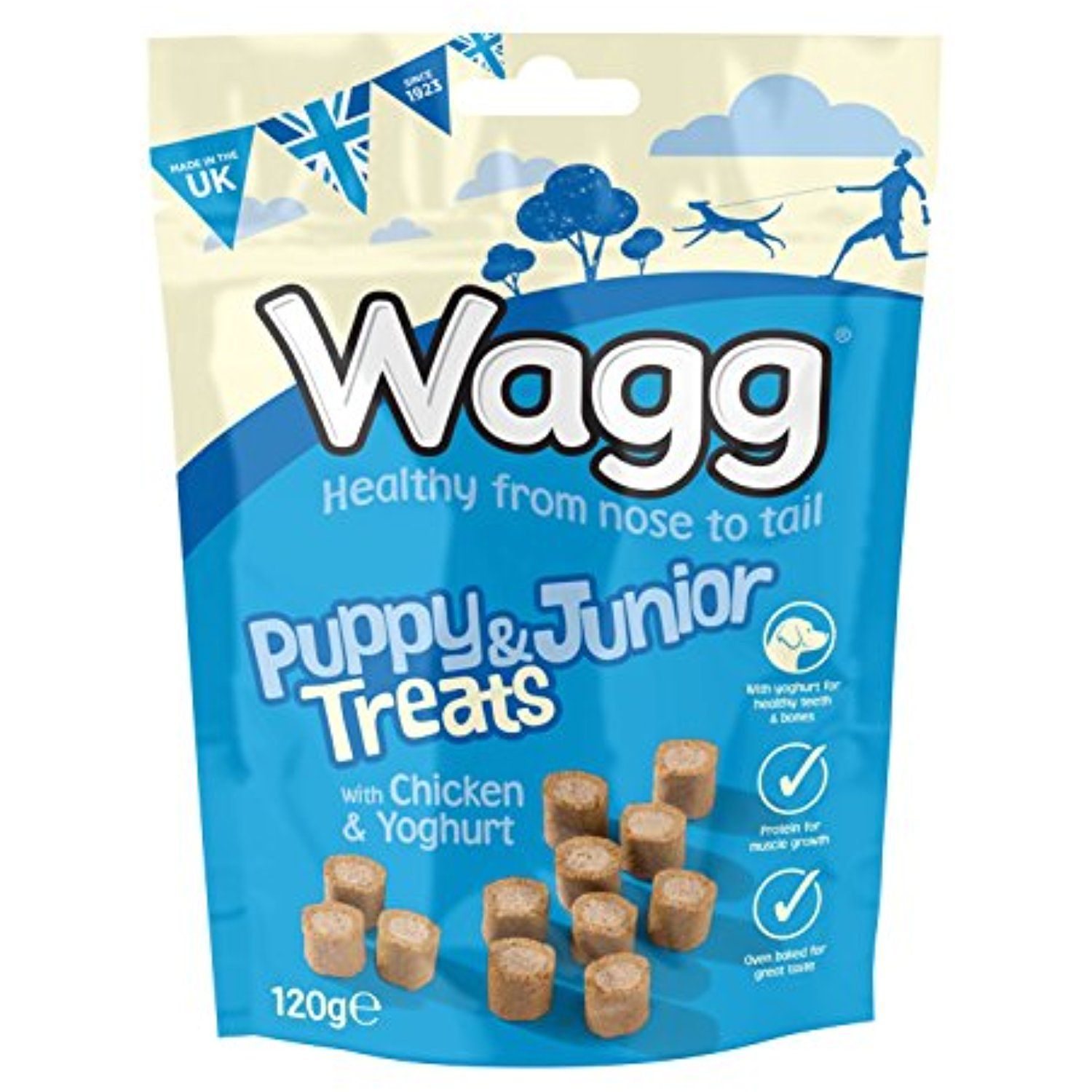 Wagg Puppy Junior Treats 120 G Pack Of 7 You Could Find More