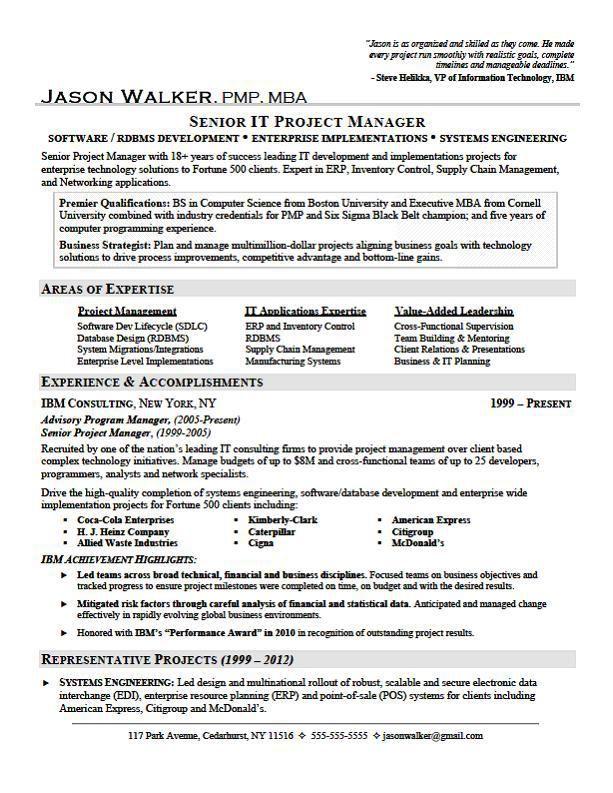 Cv Template Key Achievements Job Resume Examples Sample