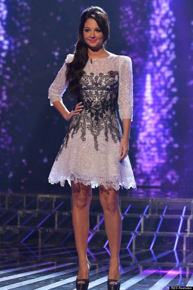 Lovely In Lace: Tulisa | Evening dresses | Pinterest