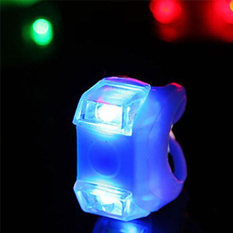 MTB Bike Cycling Bicycle Silicone LED Lamp Warn Bright Flashing ...