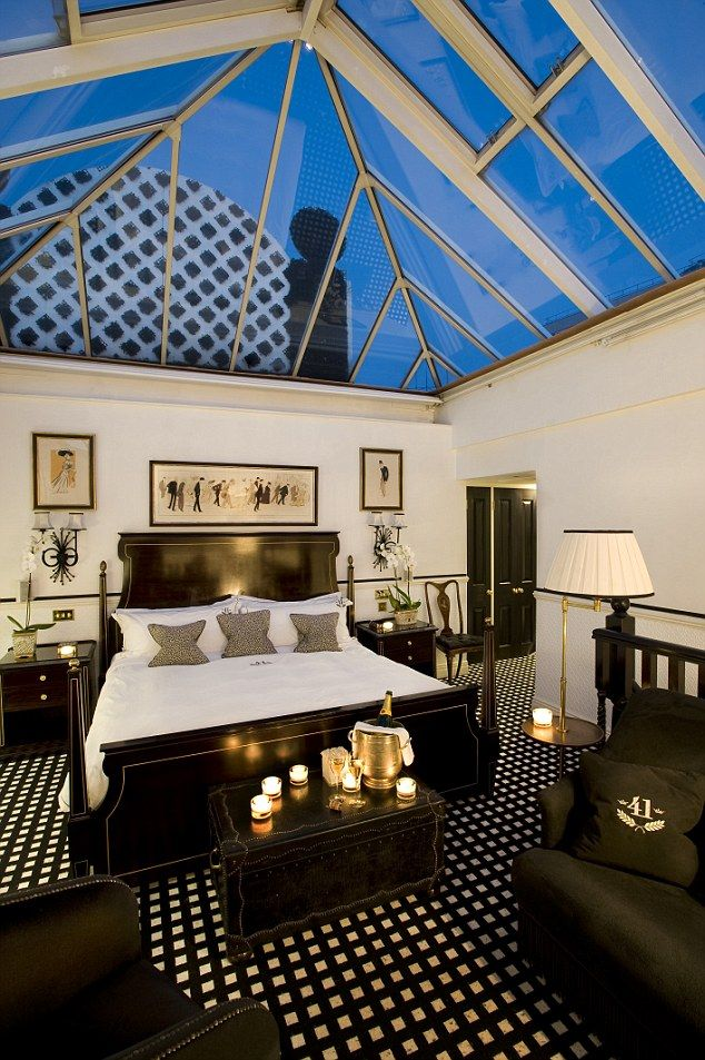 The Conservatory Suite At Hotel 41 Is Their Best Room Although All Of Rooms Are Decorated In A Black And White Theme