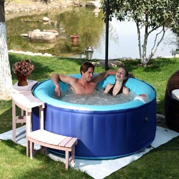 Whirlpools Für Den Garten aufblasbare whirlpools für den garten einrichtungsideen