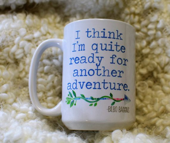 I think I'm quite ready for a new adventure Bilbo by embeemugs