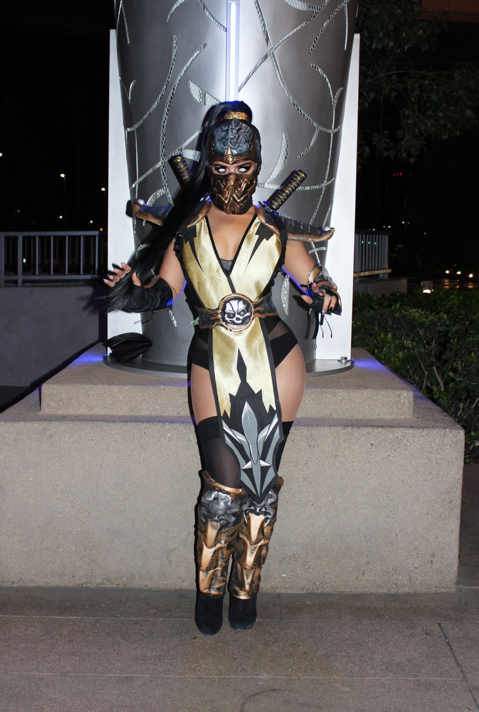mortal kombat scorpion female costume google search