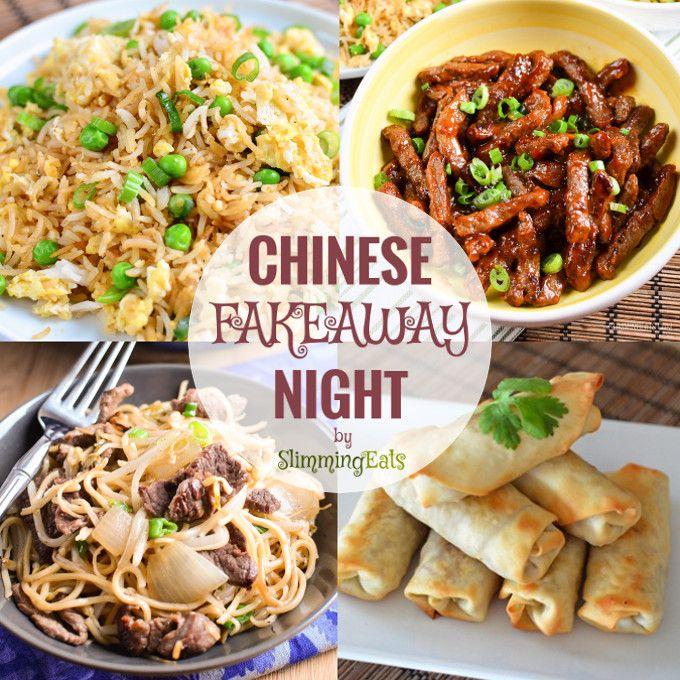 Chinese Fakeaway Night (Slimming Eats)