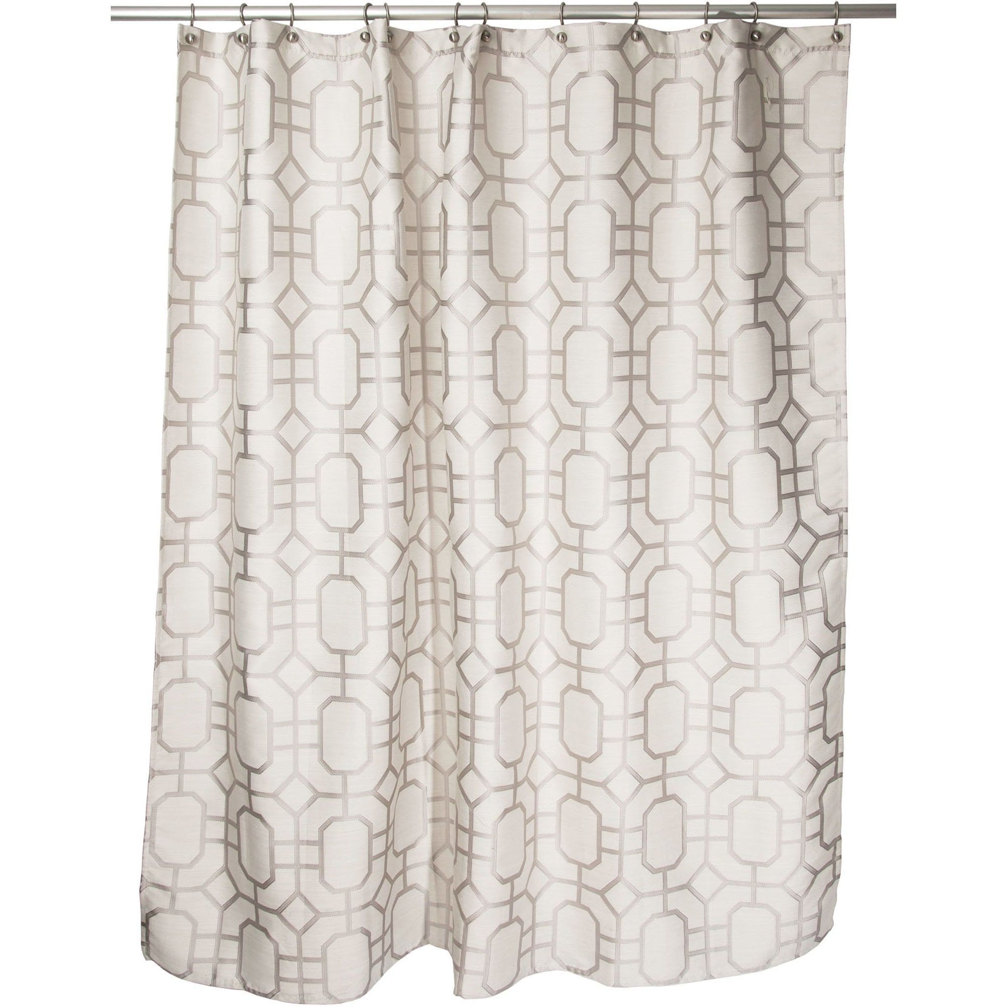Famous Home Corinth Shower Curtain Dimensions 70 X 72 Color