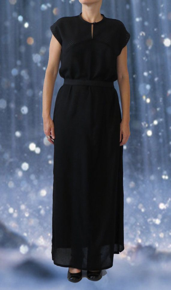 Dress 19  Black by fiss on Etsy
