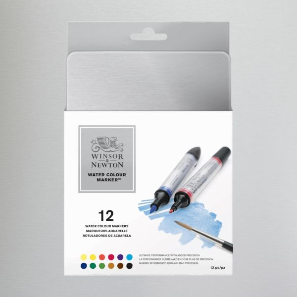 Winsor Newton Watercolour Marker Set Of 12 Art Water Color