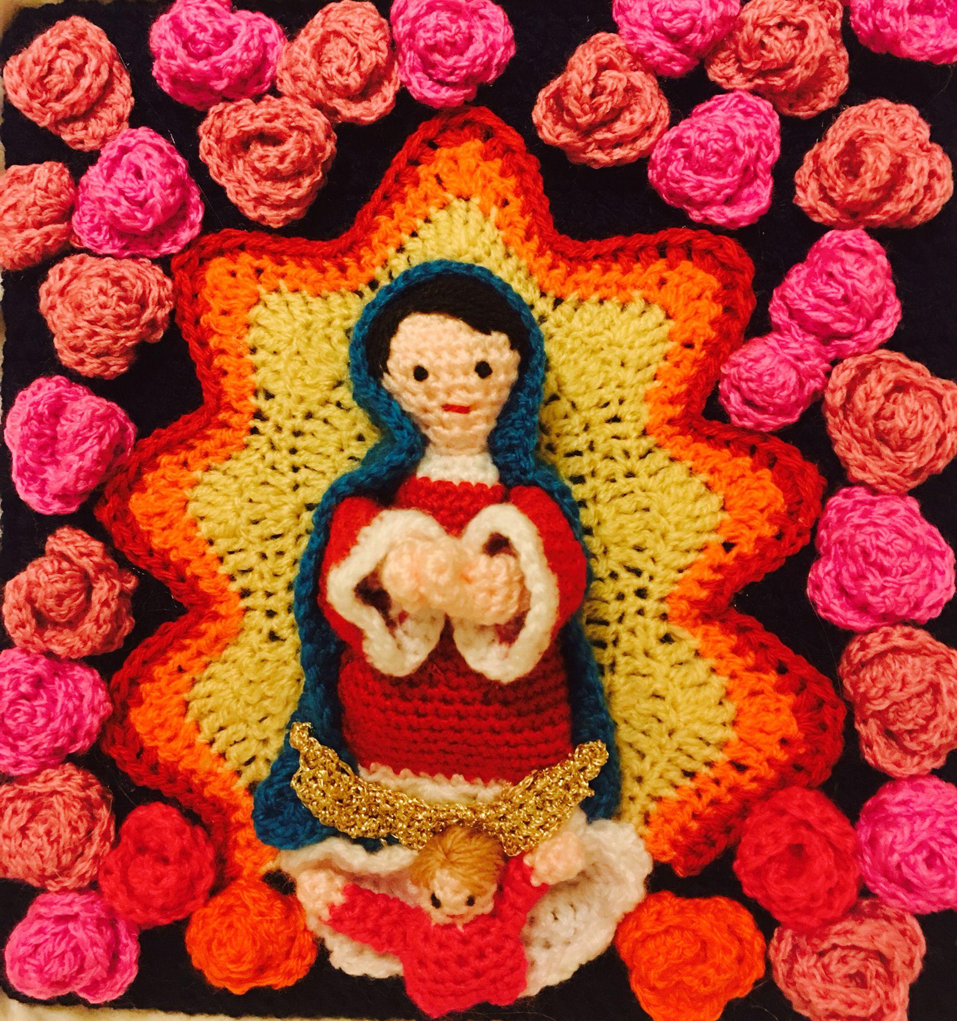 Virgen de Guadalupe crochet