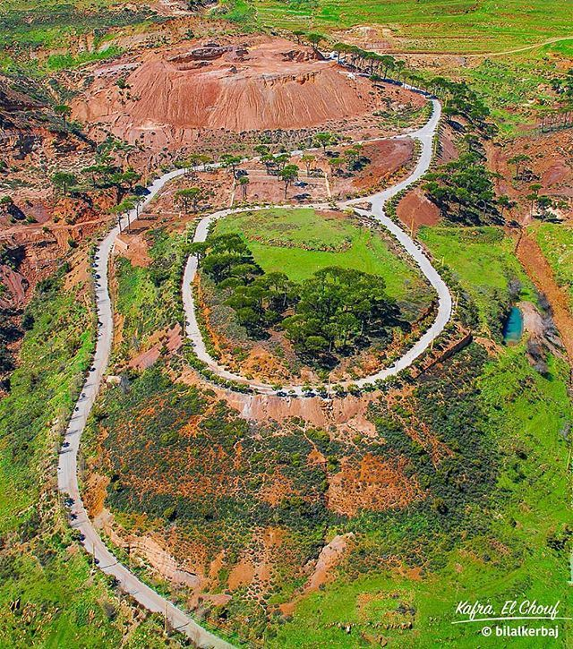 Circles and roads of @livelove.chouf