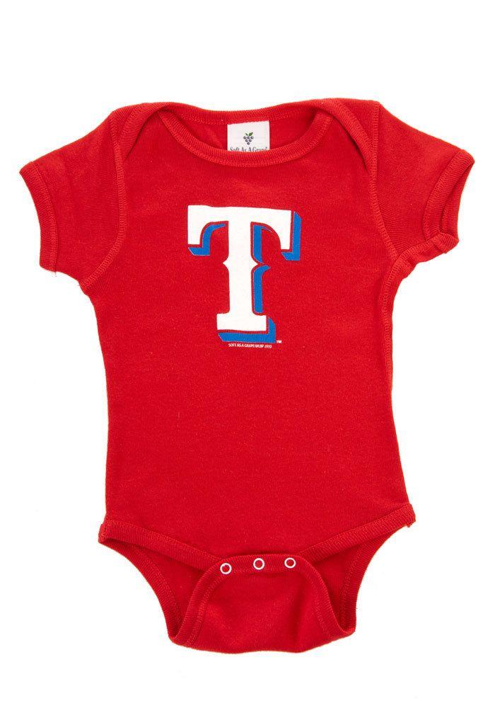 d0e09333f Texas Rangers Infant Red Onesie | MLB - Texas Rangers | Texas ...