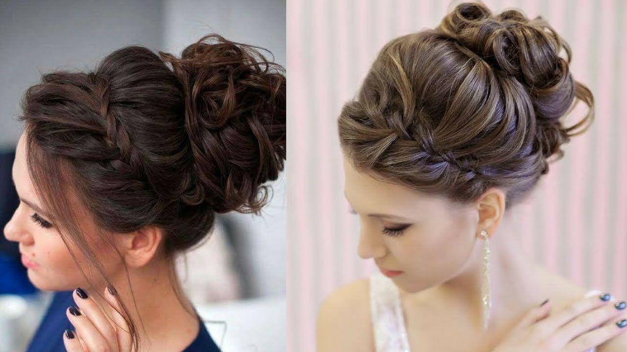 Easy hairstyle tutorial for long medium hair part
