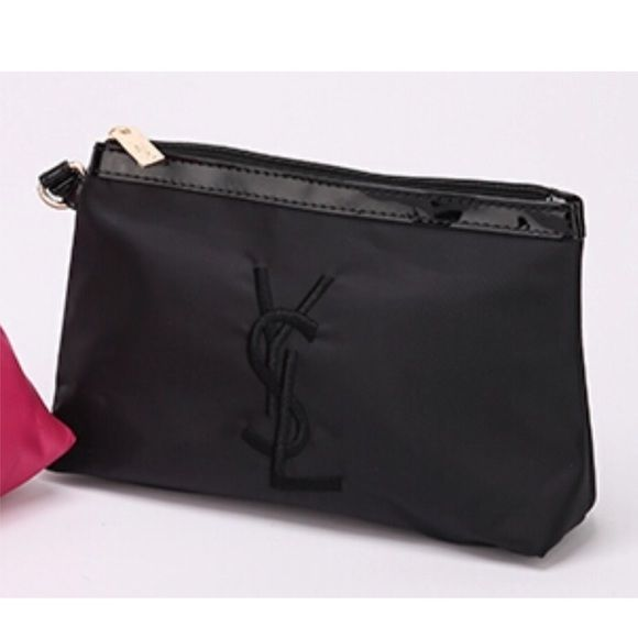 FINAL PRICEBlack YSL Cosmetic Bag Authentic!! Brand new without tags  Rose Pink  YSL perfum bag 4152c3c2c3381